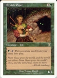 Magic the Gathering 7th Edition Single Elvish Piper UNPLAYED (NM/MT)