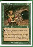 Magic the Gathering 7th Edition Single Elvish Piper - SLIGHT PLAY (SP)