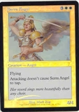 Magic the Gathering 7th Edition Single Serra Angel Foil