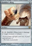 Magic the Gathering 9th Edition Single Aladdin's Ring UNPLAYED (NM/MT)