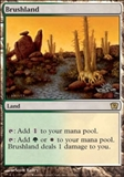Magic the Gathering 9th Edition Single Brushland - NEAR MINT (NM)
