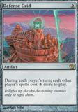 Magic the Gathering 9th Edition Single Defense Grid - NEAR MINT (NM)