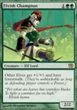 Magic the Gathering 9th Edition Single Elvish Champion UNPLAYED (NM/MT)