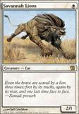 Magic the Gathering 9th Edition Single Savannah Lions Foil