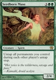 Magic the Gathering 9th Edition Single Seedborn Muse FOIL