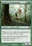 Magic the Gathering 9th Edition Single Verduran Enchantress - NEAR MINT (NM)