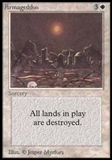 Magic the Gathering Alpha Single Armageddon UNPLAYED (NM/MT)
