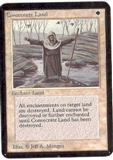Magic the Gathering Alpha Single Consecrate Land UNPLAYED (NM/MT)