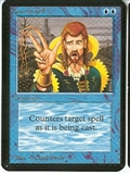 Magic the Gathering Alpha Single Counterspell SLIGHT PLAY (SP)