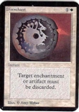 Magic the Gathering Alpha Single Disenchant UNPLAYED (NM/MT)