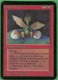 Magic the Gathering Alpha Single Dragon Whelp - SLIGHT PLAY (SP)