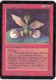 Magic the Gathering Alpha Single Dragon Whelp UNPLAYED (NM/MT)