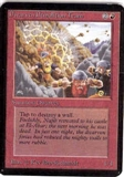 Magic the Gathering Alpha Single Dwarven Demolition Team UNPLAYED (NM/MT)