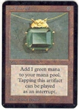 Magic the Gathering Alpha Single Mox Emerald - SLIGHT PLAY (SP)