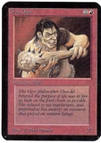 Magic the Gathering Alpha Single Gray Ogre - NEAR MINT (NM)