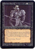 Magic the Gathering Alpha Single Hypnotic Specter UNPLAYED (NM/MT)