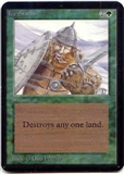 Magic the Gathering Alpha Single Ice Storm - SLIGHT PLAY (SP)