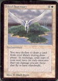 Magic the Gathering Alpha Single Island Sanctuary UNPLAYED (NM/MT)