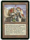 Magic the Gathering Alpha Single Juggernaut - MODERATE PLAY (MP)