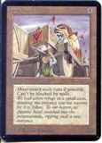 Magic the Gathering Alpha Single Juggernaut UNPLAYED (NM/MT)
