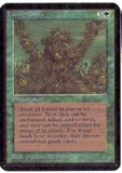 Magic the Gathering Alpha Single Living Lands UNPLAYED (NM/MT)