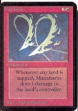 Magic the Gathering Alpha Single Manabarbs UNPLAYED (NM/MT)