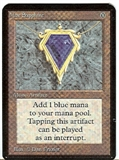 Magic the Gathering Alpha Single Mox Sapphire UNPLAYED (NM/MT)