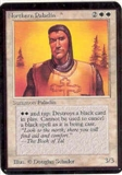 Magic the Gathering Alpha Single Northern Paladin LIGHT PLAY (NM)