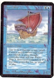 Magic the Gathering Alpha Single Pirate Ship UNPLAYED (NM/MT)