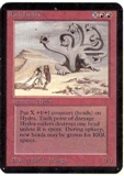 Magic the Gathering Alpha Single Rock Hydra - SLIGHT PLAY (SP)