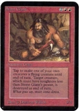 Magic the Gathering Alpha Single Stone Giant - NEAR MINT (NM)