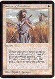 Magic the Gathering Alpha Single Swords to Plowshares LIGHT PLAY (NM)