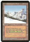 Magic the Gathering Alpha Single Taiga UNPLAYED (NM/MT)