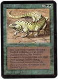 Magic the Gathering Alpha Single Thicket Basilisk - NEAR MINT (NM)