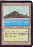 Magic the Gathering Alpha Single Tropical Island - NEAR MINT (NM)