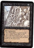 Magic the Gathering Alpha Single Wall of Bone - NEAR MINT (NM)