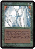 Magic the Gathering Alpha Single Wall of Ice UNPLAYED (NM/MT)