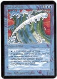 Magic the Gathering Alpha Single Wall of Water UNPLAYED (NM/MT)