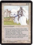 Magic the Gathering Alpha Single White Knight UNPLAYED (NM/MT)