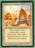 Magic the Gathering Arabian Nights Single City of Brass - HEAVY PLAY (HP)