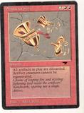 Magic the Gathering Antiquities Single Shatterstorm LIGHT PLAY (NM)