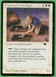 Magic the Gathering Antiquities Single Argivian Archaeologist - MODERATE PLAY (MP)