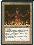 Magic the Gathering Antiquities Single Colossus of Sardia HEAVY PLAY