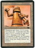Magic the Gathering Antiquities Single Triskelion UNPLAYED (NM/MT)