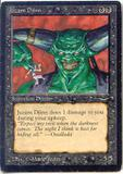 Magic the Gathering Arabian Nights Single Juzam Djinn - MODERATE PLAY (MP)