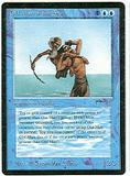 Magic the Gathering Arabian Nights Single Old Man of the Sea MODERATE PLAY (VG/EX)