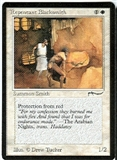 Magic the Gathering Arabian Nights Single Repentant Blacksmith UNPLAYED (NM/MT)