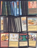 Magic the Gathering Arabian Nights Complete 78-Card Set MODERATE PLAY