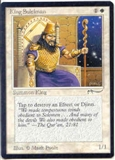 Magic the Gathering Arabian Nights Single King Suleiman - NEAR MINT (NM)