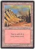 Magic the Gathering Arabian Nights Single Mountain - NEAR MINT (NM)
